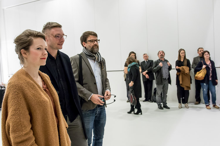 The opening of the exhibition, photo by Tomasz Żak